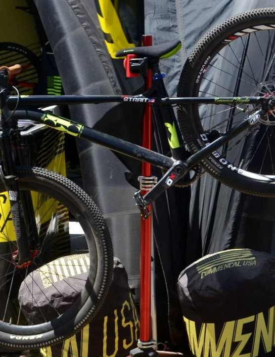 This bike sees some abuse: Kyle Strait's Commencal Absolut DJ bike