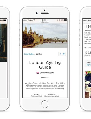 Over 10 million activities were analysed for Strava's London guide