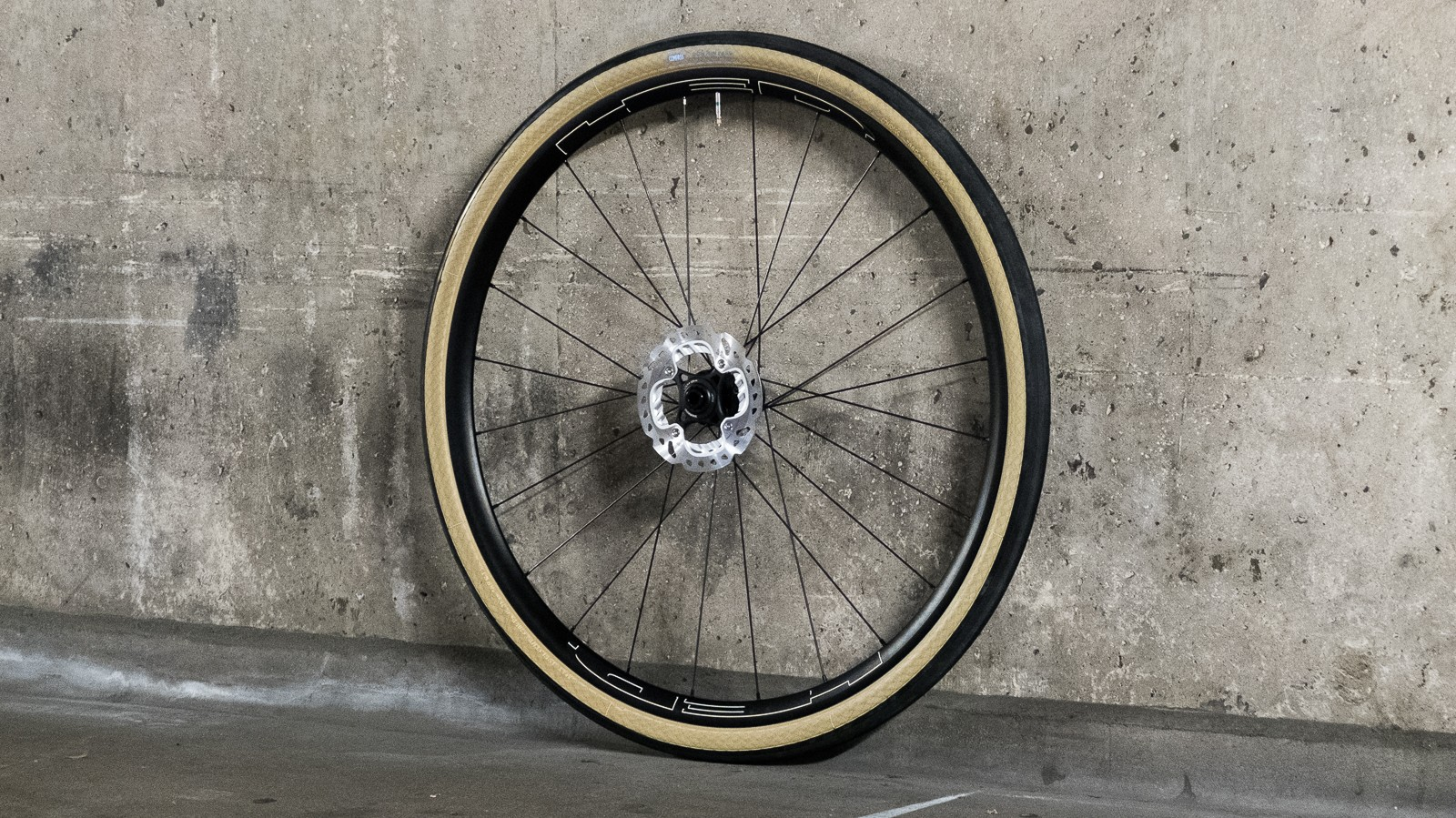 Black rims and tan wall tyres — the classiest combination out there