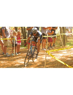 Katie Compton is a 14-time US champ, four-time Pan Am Games champion and winner of the UCI Overall several times