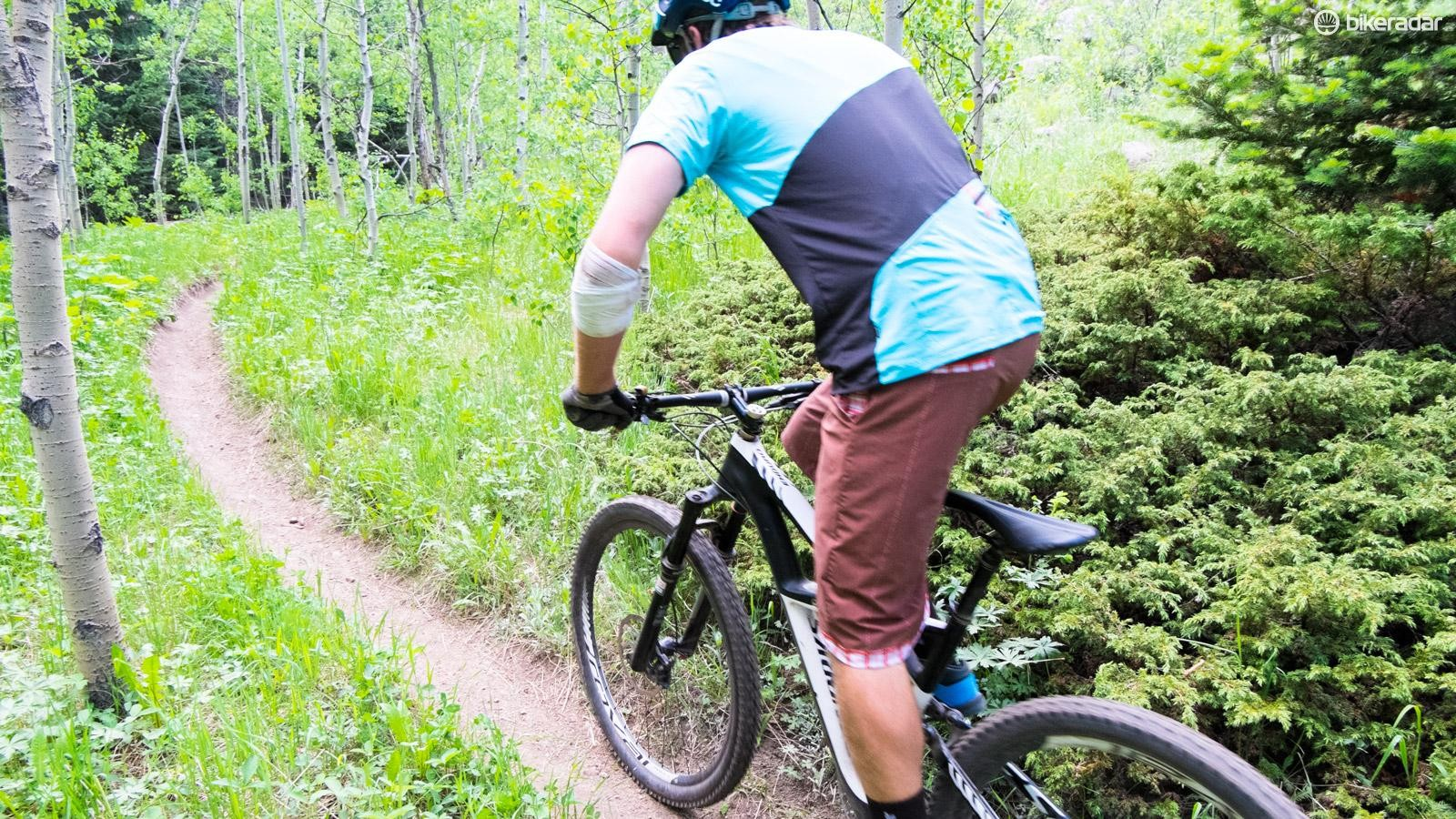 With the low weight and outstanding function, all day rides can be on the agenda