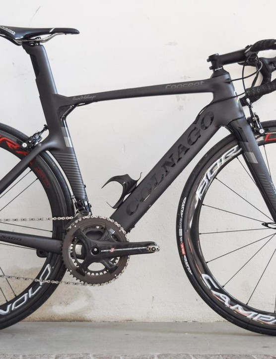 The new Colnago Concept aero bike