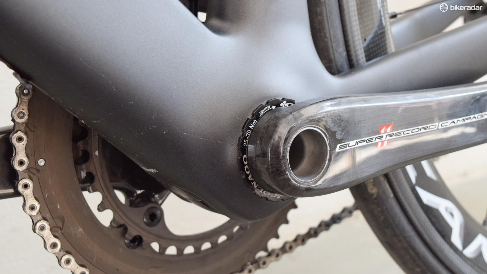 The Concept gets the same ThreadFit bottom bracket as the C60