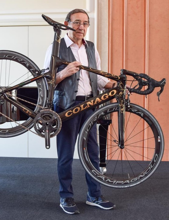 Ernesto Colnago is proud of his company's latest offering