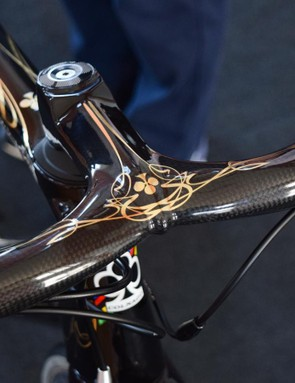 This special one-off Concept has a stunning black and gold paint job