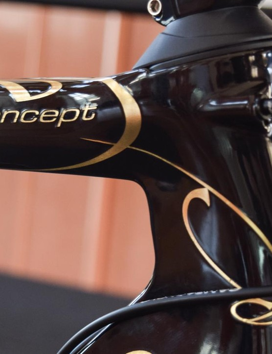 Colnago paint is something to behold up close