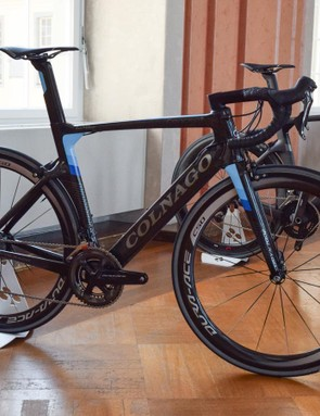 Colnago brought along Concepts built with all the top groupsets, including the new Shimano Dura-Ace 9100