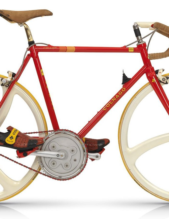 The original 1986 Colnago Concept was the company's first carbon bike