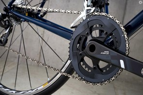 SRAM Force 22 groupset adds a dash of carbon with its cranks