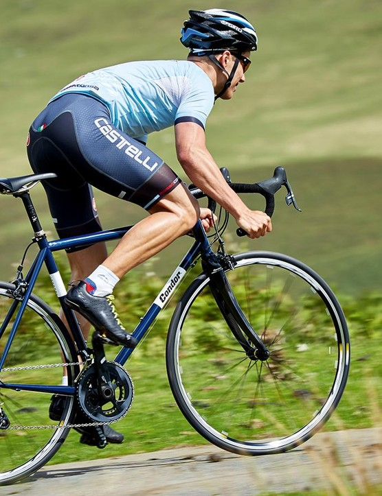 The Acciaio has a composed ride quality that you won't tire of