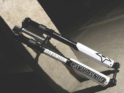 The DH fork has been built to withstand anything you throw at it.