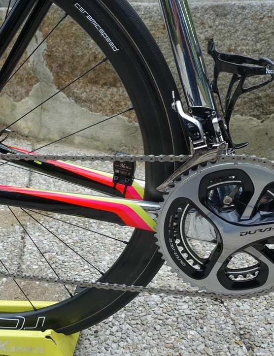 Contador prefers mechanical Dura-Ace to Di2