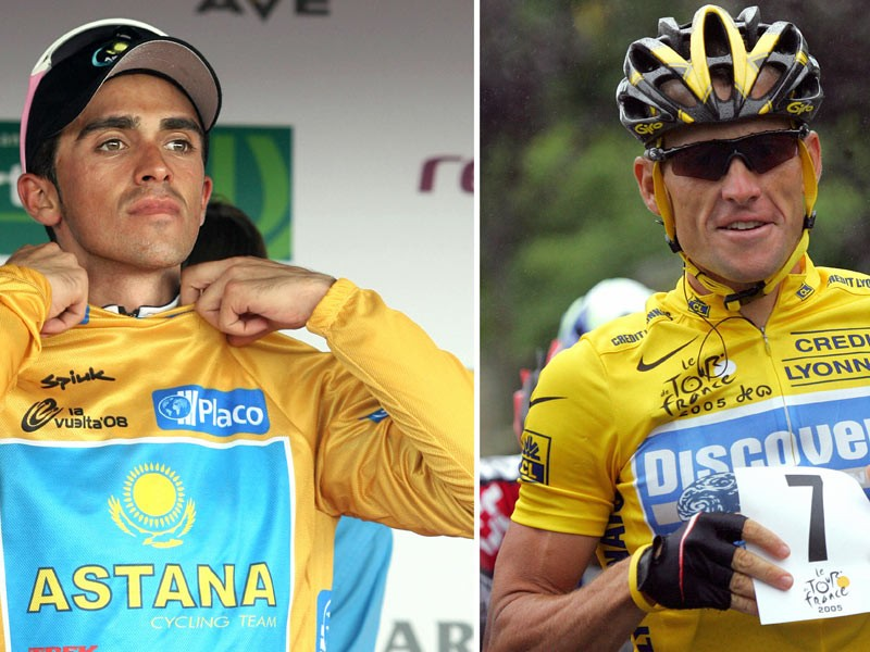 Armstrong and Contador to train together this month