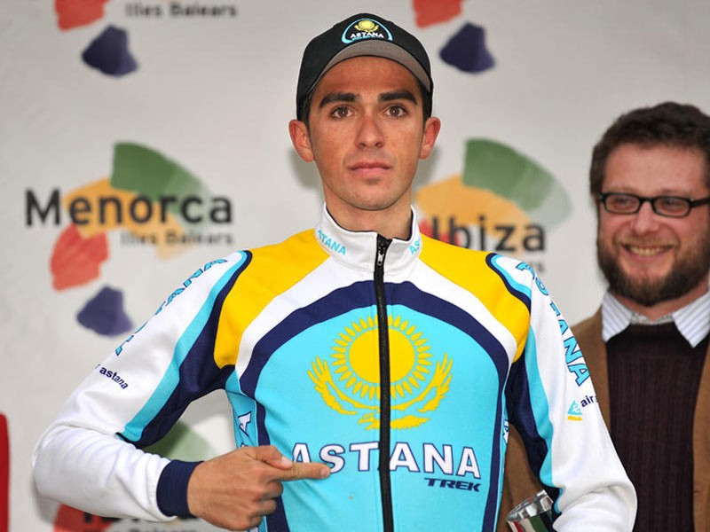 Contador says he has assurances from Astana that he will still lead the team if Armstrong returns.