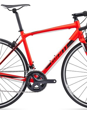 The rim brake Contend 1 is a stripped down version of the SL Disc