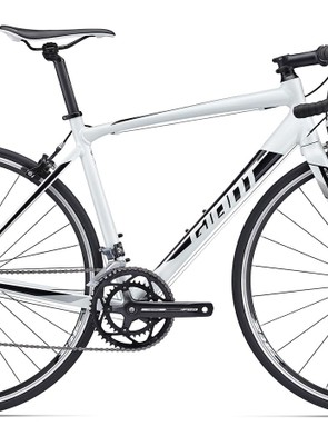 Like the Contend 1, the bright white Contend 2 gets an ALUXX aluminium frame