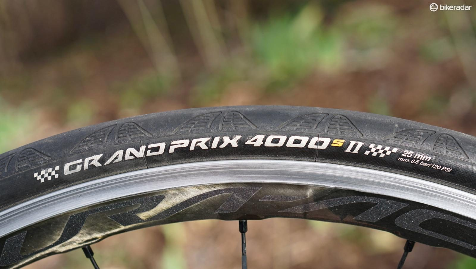 Continental Grand Prix 4 Season 700x23 Pair Black