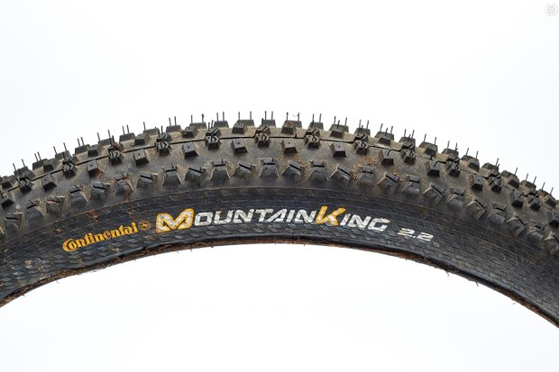Continental's Mountain King Protection 27.5x2.2 tyres are a decent all-round option