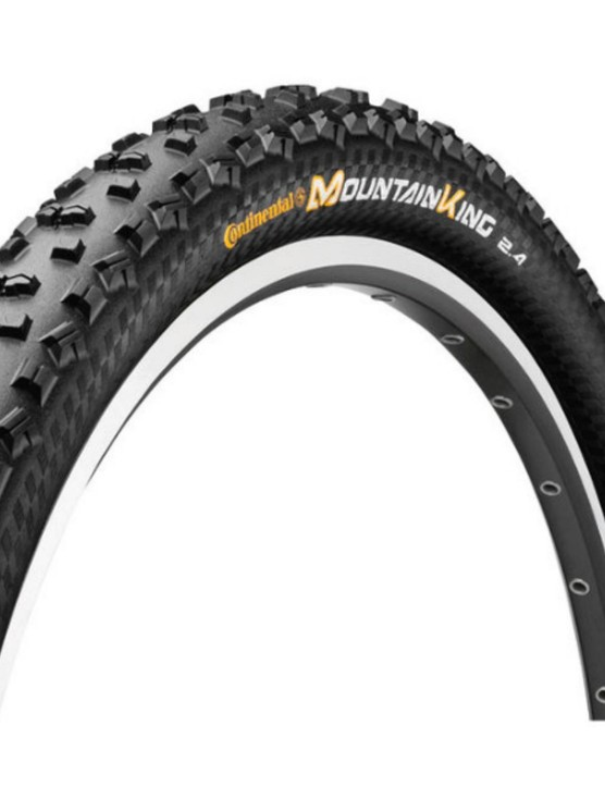 Get your grip on with the Continental Mountain King 29er tyres