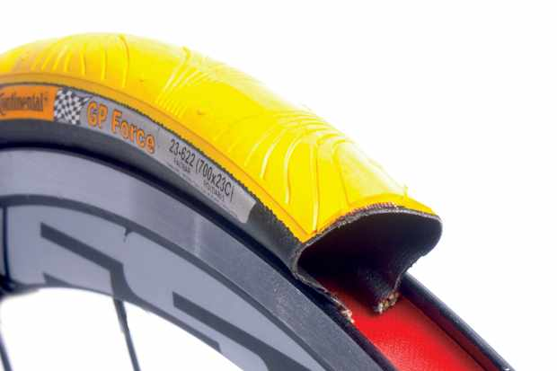 The Conti GP performs exceptionally when cornering