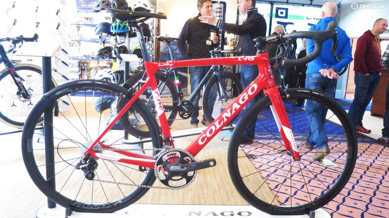 Colnago's C-RS is the first rung on the Italian brand's carbon ladder