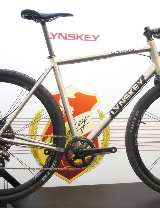 Lynskey's new GR250 gravel machine takes both 650b and 700c wheel sizes