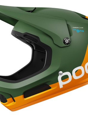 The Coron Air Carbon Spin in Septane Green/Fluo Orange