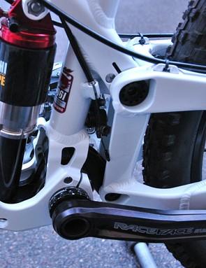 Corsair Marque suspension detail