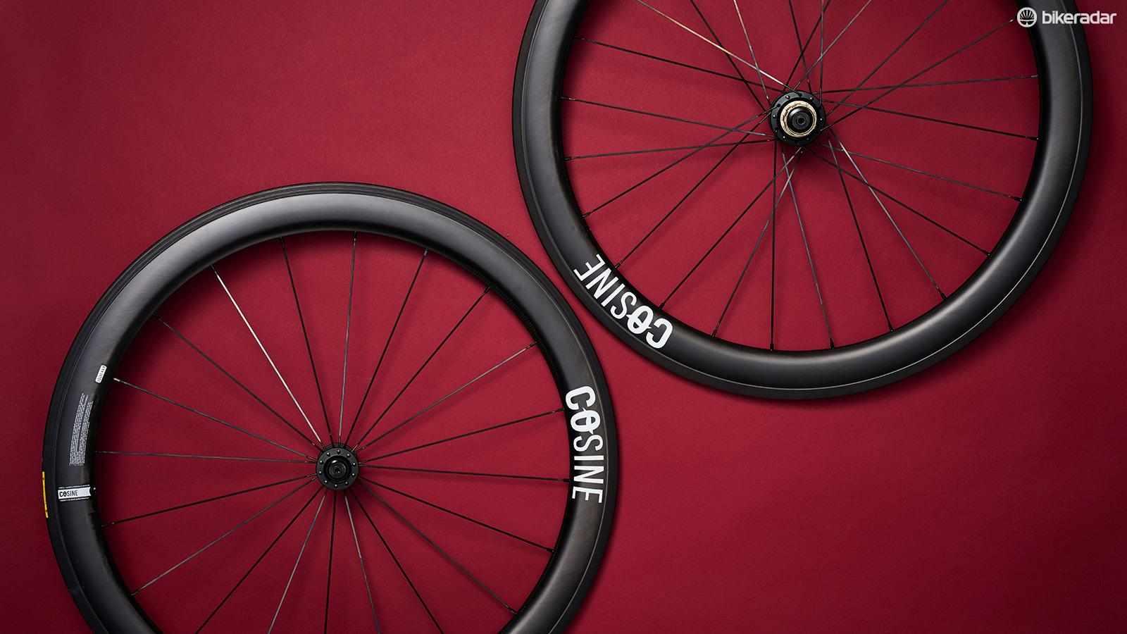 The Cosine Carbon Clincher wheelset