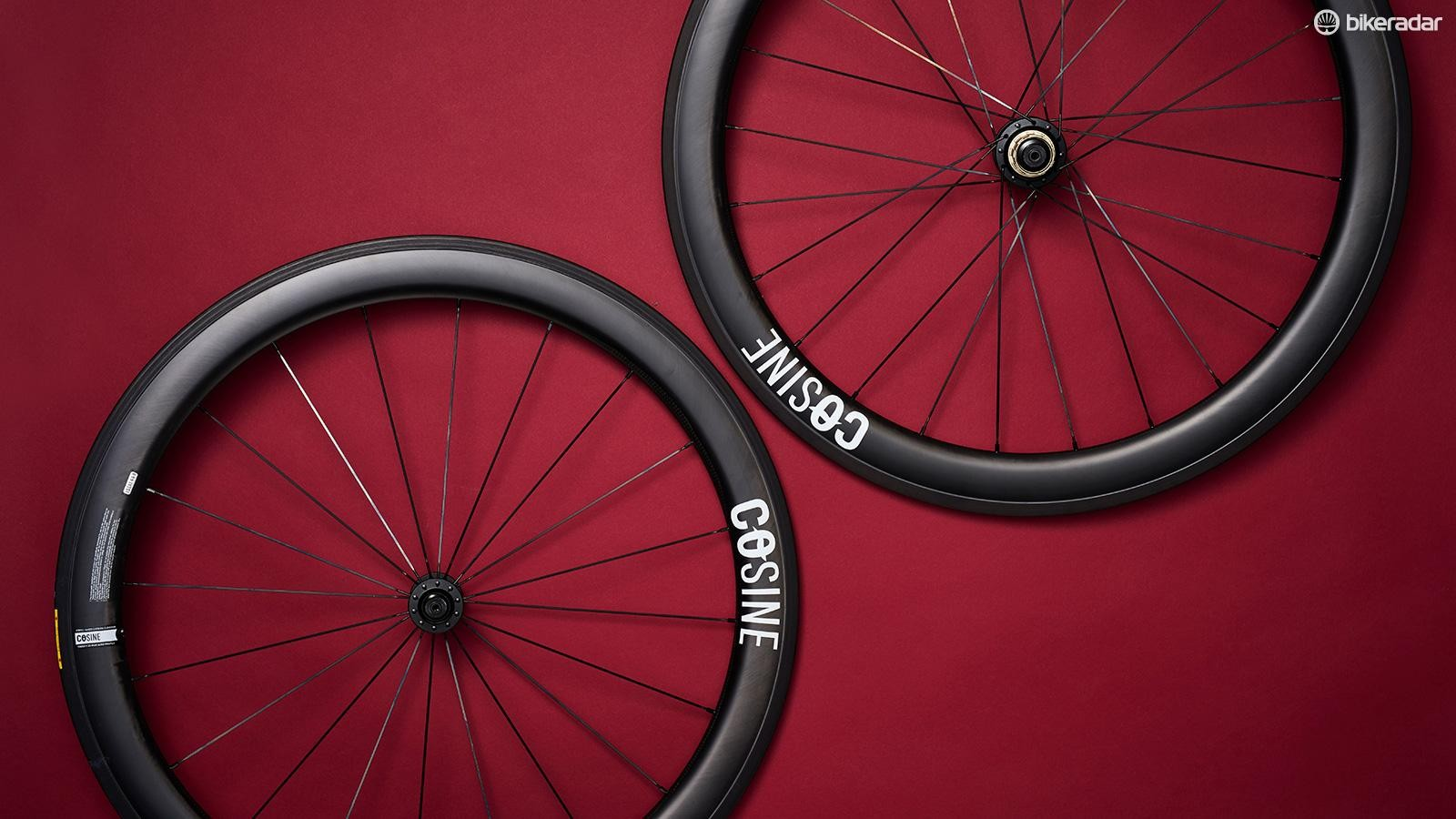 The Cosine Carbon Clincher wheelset
