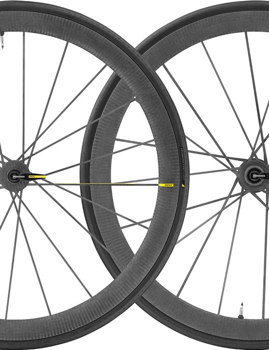 The 1,310g Cosmic Ultimate UST wheels are made as single pieces - no metal spokes or nipples here