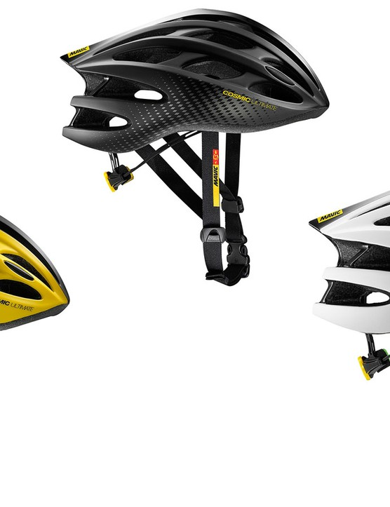 The Cosmic Ultimate II is Mavic's new flagship road helmet