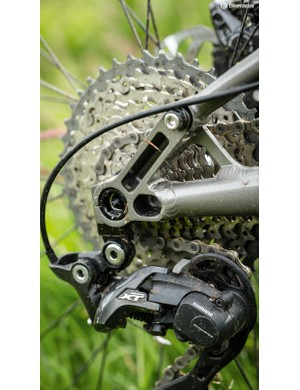 Shimano groupset and Race Face cranks are a winning combo on the trail