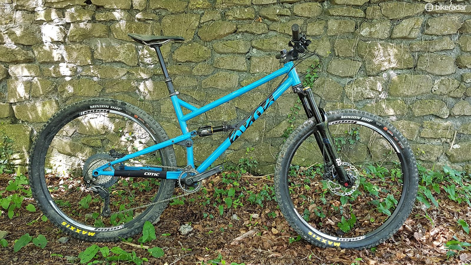 The Cotic FlareMax is a short travel, super aggressive 29er trail bike