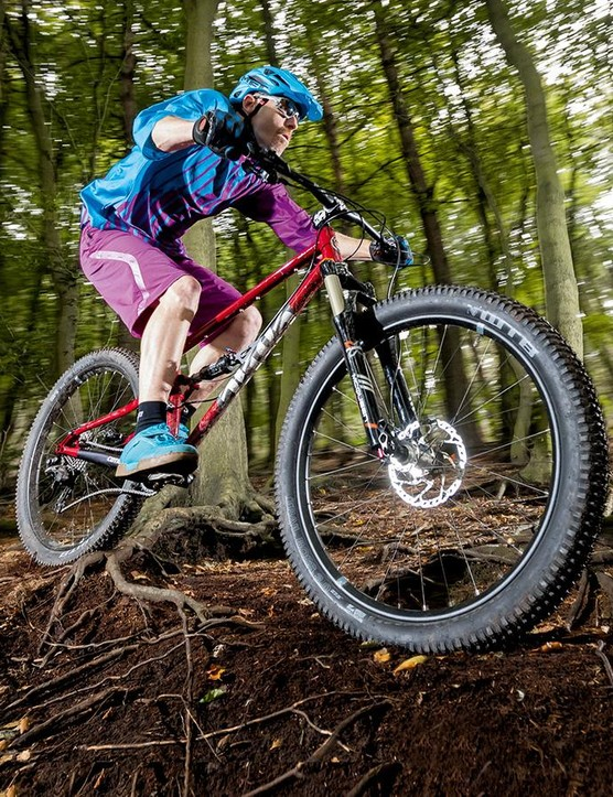 Tougher tyres and wider wheels would really improve the feel of the bike