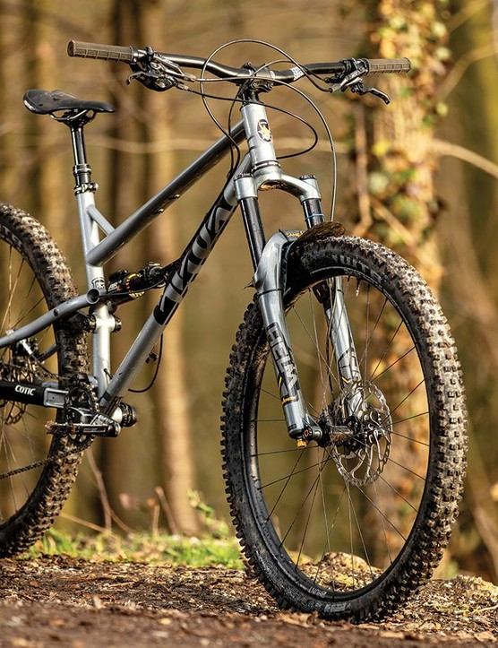 Cotic offers four build options, with a choice of 29in or 650b+ wheels