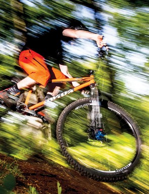 The extreme Longshot stretch and short fork can feel odd at first, but boost its climbing as well as descending prowess