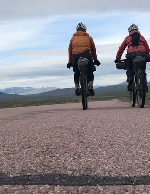 Divided charts the story of Lee Craigie and Rickie Cotter as they race the Tour Divide