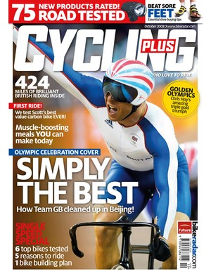 Chris Hoy special edition cover
