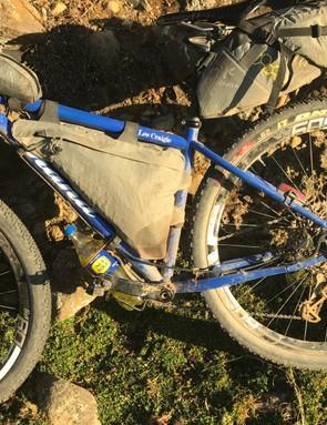 Craigie's handbuilt Shand bicycle