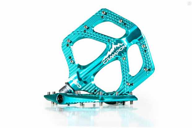 Canfield has reworked the Crampon pedal (now known as the Crampon Mountain)