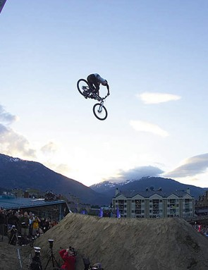 Brandon Semenvic soars through the Canadian sky