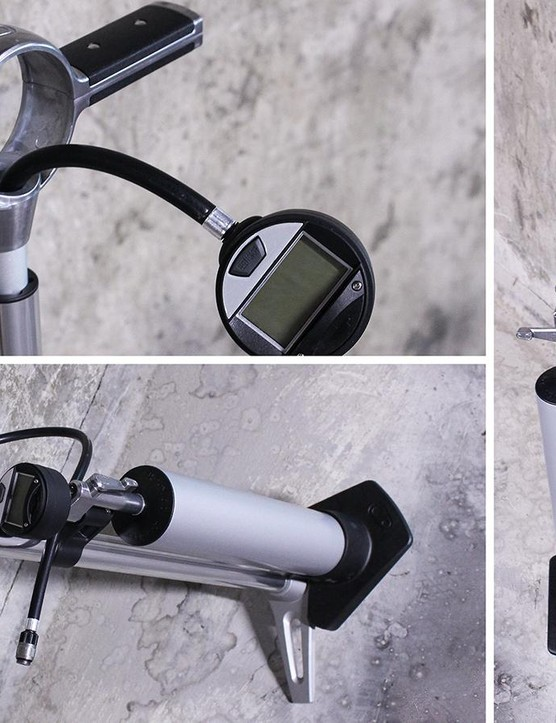 Crankbrothers Klic Floor Pump Digital & Burst Tank