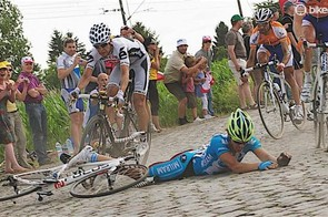 Crashes are somewhat inevitable, luckily most of them you can laugh about afterwards
