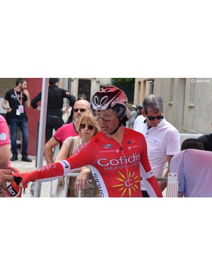 Cofidis use the lesser seen Suomy helmets