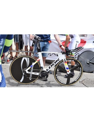Fortuneo-Samsic's eye-catching Look time trial machine