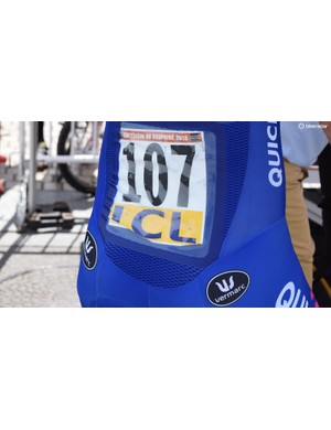 Many brands now produce pockets specifically for race numbers to save using safety pins to affix the numbers