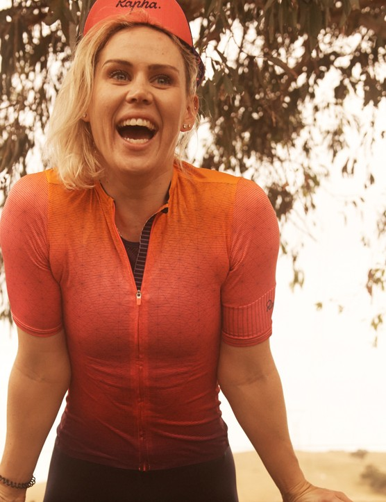 Tiffany Cromwell has inspired the newest Rapha capsule collection