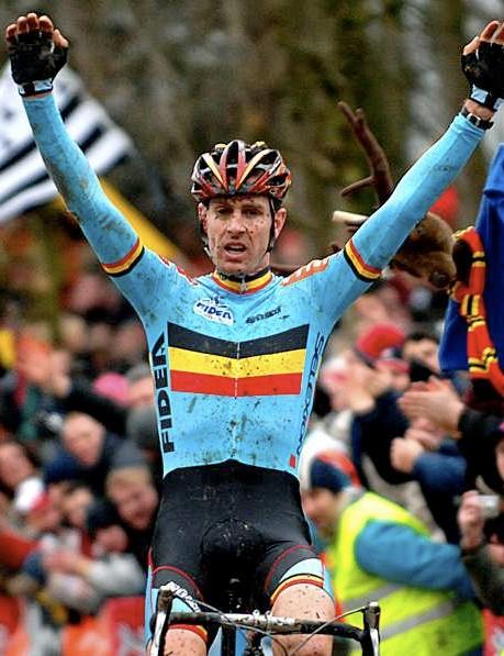 2007 UCI world 'cross champ, Belgian Erwin Vervecken.