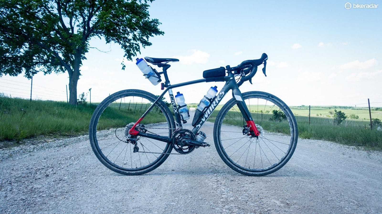 My weapon of choice: the Specialized S-Works CruX in gravel guise